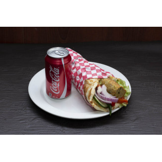 Haryali Chicken Wrap